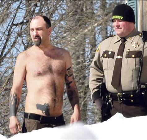gun tattoo of the day maine swat team called out for gun