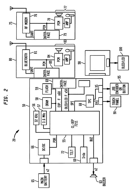 smartwatch block diagram patent us6477117 alarm interface for a smart