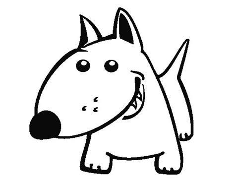 dibujos de perros para colorear dibujosnet dibujo de perrito v para colorear dibujos net