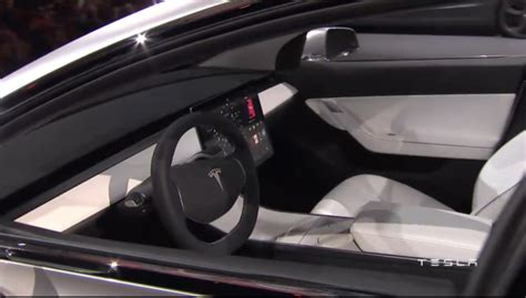 tesla model 3 interior 360 tesla a d 233 voil 233 la model 3 sera vendue 224 partir de 35 000 dollars