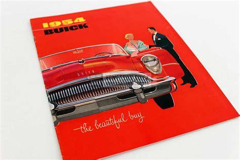 buick brochure 1954 buick sales brochure hometown buick