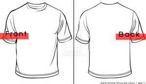 Shirt Template sketch template