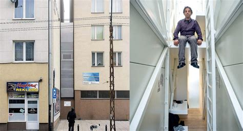 keret house keret house world s narrowest home located in warsaw