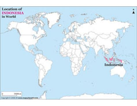 Indonesia On buy indonesia location on world map