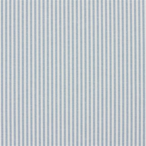 Ticking Upholstery Fabric by Aero Blue And White Ticking Stripes Cotton Upholstery