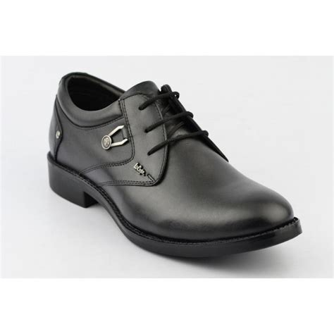 buy cooper leather formal shoes lc2024 black black