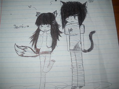 wallpaper of cute emo couple emo anime couple by samisamb95 on deviantart