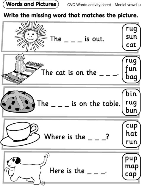 printable worksheets reception an educators take on it cvc free worksheets