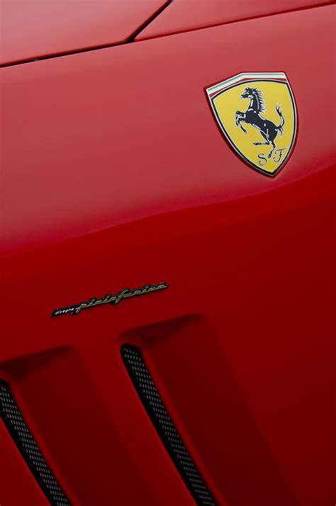 pininfarina emblem photograph by reger