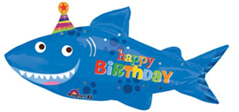 baby shark happy birthday shark birthday balloon