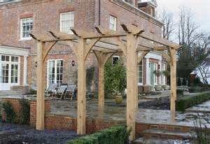 Oak Pergola by Barn Construction East Sussex Learn How San Plans