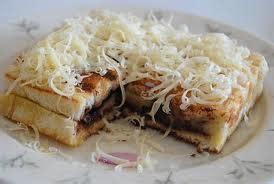 resep roti bakar pisang keju coklat resep masakan kreatif