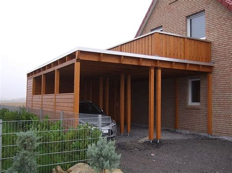 Kosten Carport by Carport Mit Balkon Kosten Carprola For