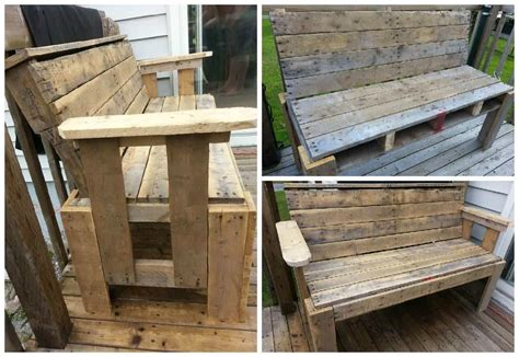 rustic benches from reclaimed pallets 1001 pallets uncategorized rustic pallet furniture englishsurvivalkit