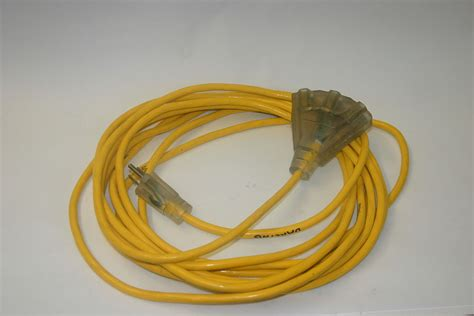10 3 Sj Sjoow Black Rubber Cord Extension Wire - 电源延长线 维基百科 自由的百科全书