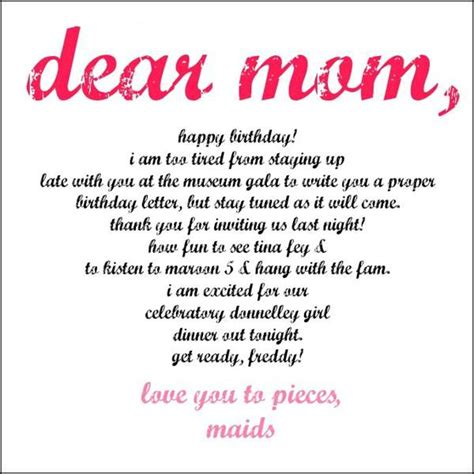 Quotes For Mothers Birthday Birthday Quotes For Mom Happy Birthday Myniceprofile Com