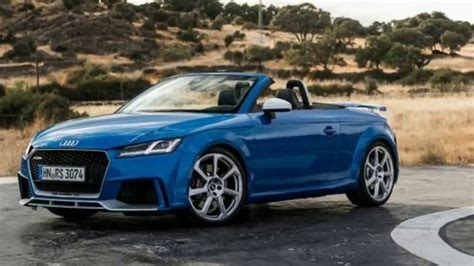 Audi Tt Rs Roadster Price by 2018 Audi Tt Rs Roadster Drive Review Specs And