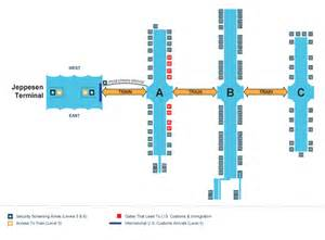 Denver Airport Floor Plan Navigating Your Way Around Dia Denver Discount Shuttle
