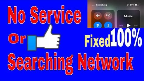 iphone xs xr and xs max no service or searching network error fixed