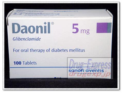 Daonil Glibenclamide express shop daonil tablets 5mg