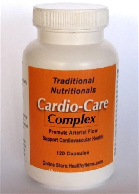 B12 And Niacin Detox by Cardio Care Complex Healthy Items