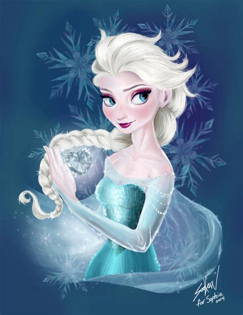 elsa painting elsa painting by saenerys from r frozen queenelsa