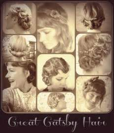 diy 1920s flapper hairstyles great gatsby hair looks for long curly hair short