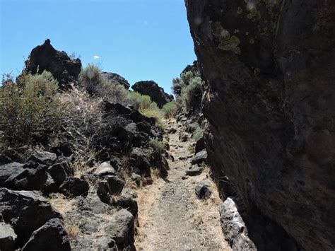 Lava L Band by Lava Beds National Monument