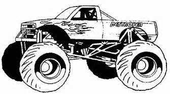 Wheels Truck Coloring Pages Free Coloring Pages Of 4 X 4 Truck