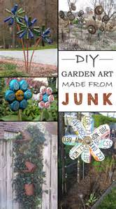 Home Garden Decor 12 Ideas How To Create Unique Garden From Junk