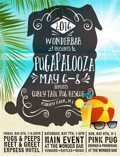 northeast pug rescue annual pugapalooza turns into a puggin weekend asbury park sun