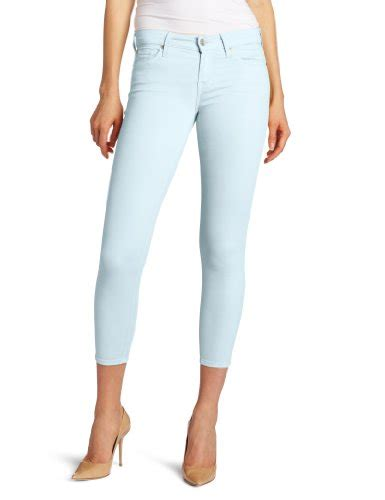 Basic Jegging Light Blue 7 for all mankind s featherweight crop