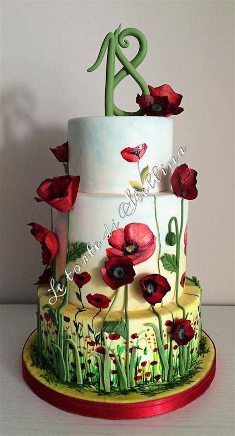 fiori per 18 anni torte 18 anni di cake design per ragazzo e ragazza