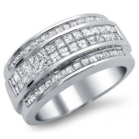 White Gold Wedding Bands Mens – Wedding Bands Mens White Gold   Inofashionstyle.com