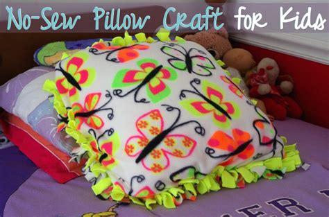 No Sew Pillow Craft For A Modern Mrs