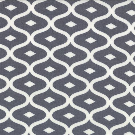 fabric pattern styles moda geometric ogee grey simply style fabric