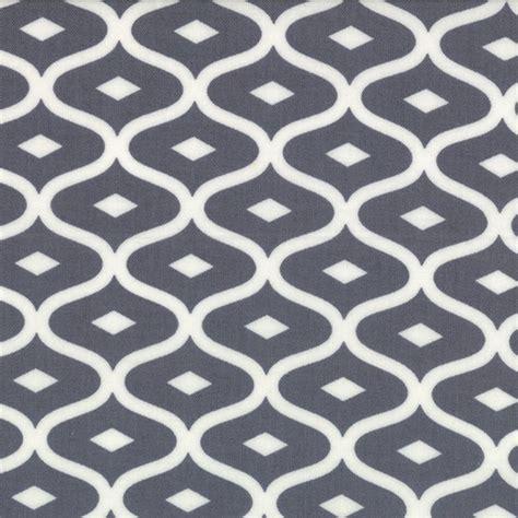 geometric pattern material uk moda geometric ogee grey simply style fabric