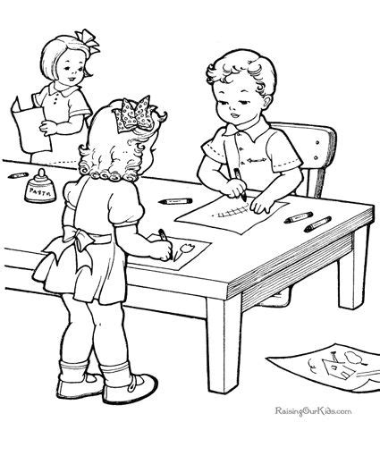 school canteen coloring page school canteen coloring page coloring pages
