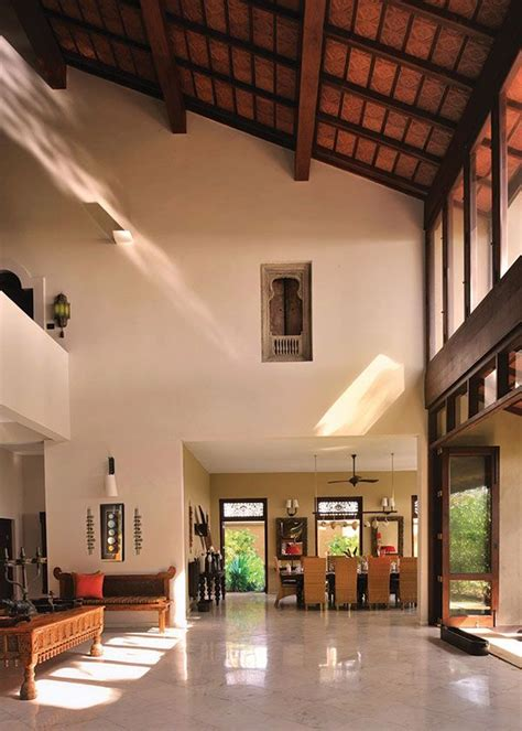 decorating interiors  high ceilings implies  high