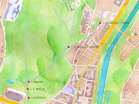 Englischer Garten München Karte Eisbach by Eisbach Treiben So Geht S M 252 Nchen Reiseblog