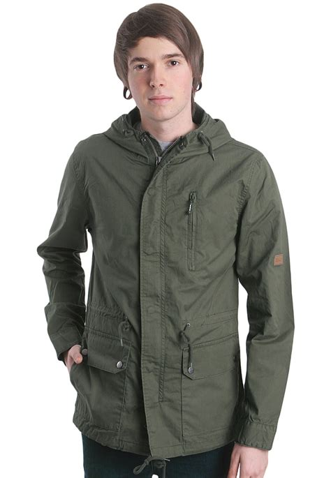 Ready Stock Parka Navy Botton Big Size billabong gm army olive jacket streetwear shop impericon worldwide