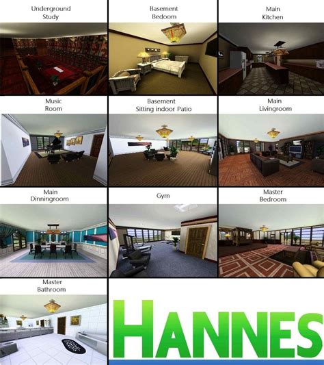 types of rooms in a mansion mod the sims luxury mansion