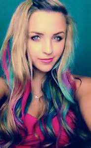 colorful hair styles colorful hair for spring without dye youtube