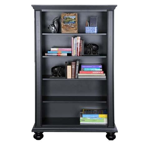 Big Black Bookcase Be136b Winners Only Furniture 36in Open Bookcase