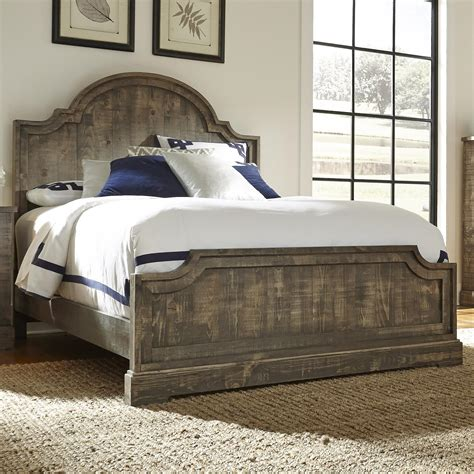 Pine Headboard And Footboard by Progressive Furniture Meadow King Panel Bed Northeast