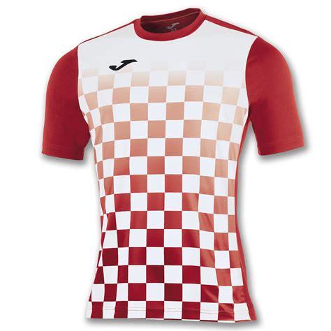 Tshirt Futbol Sala s s t shirt flag white joma