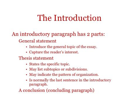 essays introduction and outline