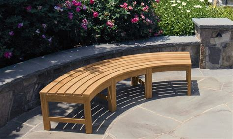 curved bench outdoor curved garden benches uk landscaping gardening ideas