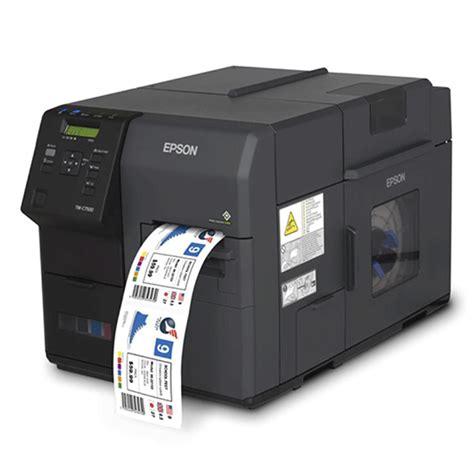 color label printer epson tm c7510g color label printer price in india buy
