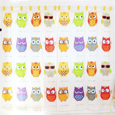 owl curtain rod owl curtain